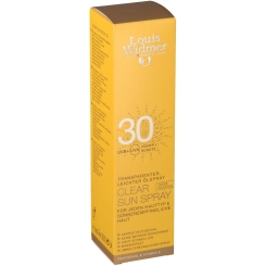 Louis Widmer Clear Sun Spray 30 unparfümiert