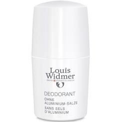 Louis Widmer Deodorant ohne Aluminium-Salze Roll-on leicht parfümiert