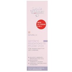 Louis Widmer Getönte Feuchtigkeitspflege UV 20 CC Cream Naturel leicht parfümiert