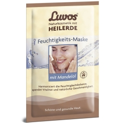 Luvos® HEILERDE Feuchtigkeits-Maske mit Mandelöl