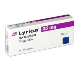 Lyrica 25 mg Kapseln