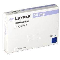Lyrica 50 mg Kapseln