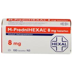 M Prednihexal 8 mg Tabl.