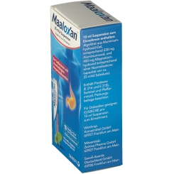 Maaloxan® 25 mVal Suspension mit frischem Minz-Geschmack