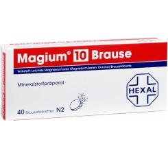Magium® 10 Brause Brausetabletten