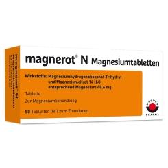 Magnerot® N Magnesiumtabletten