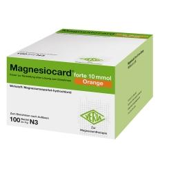 Magnesiocard forte 10mmol Orange Pulver