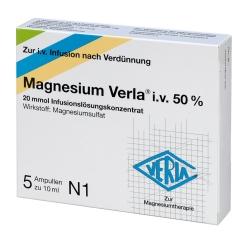 Magnesium Verla® i.v. 50% Infus.-Lsg.