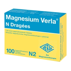 Magnesium Verla® N Dragées