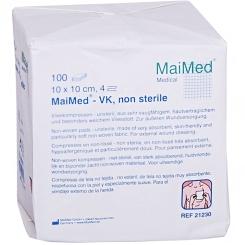 MaiMed® Vlieskompressen 10 x 10 cm 4 fach unsteril