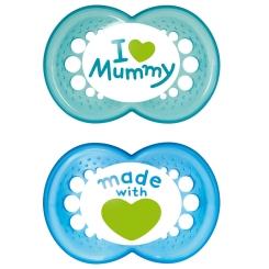 MAM Original Silikon 6-16 Monate I love mummy