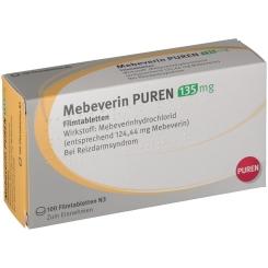 MEBEVERIN PUREN 135 mg Filmtabletten