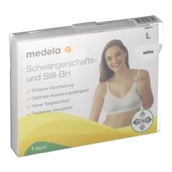medela Schwangerschafts- und Still-BH weiß Größe L
