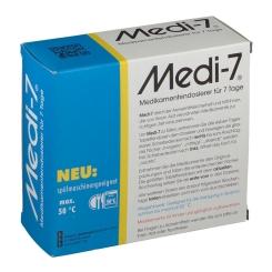 Medi-7 Medikamenten Dosierer weiß russisch