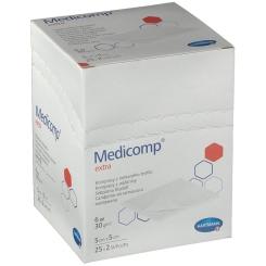 Medicomp Extra Kompr.5x5cm steril