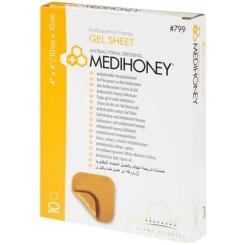 MEDIHONEY® aktibakterieller Honig Gelverband 10 x 10 cm