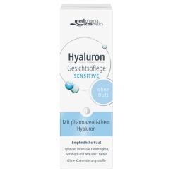 medipharma cosmetics Hyaluron Gesichtspflege Sensitive