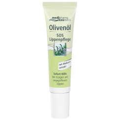 medipharma cosmetics Olivenöl SOS Lippenpflege Creme