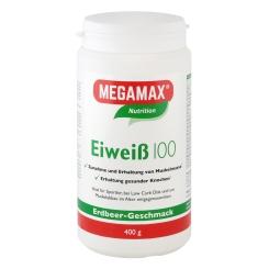 MEGAMAX® BASIC & ACTIVE Eiweiß 100 Erdbeere