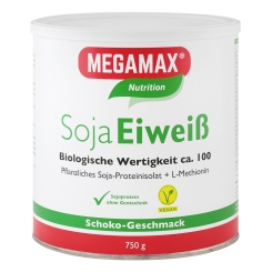 MEGAMAX® BASIC & ACTIVE Soja Eiweiß Schoko