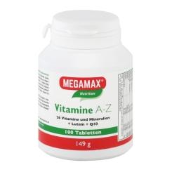MEGAMAX® BASIC & ACTIVE Vitamine A-Z
