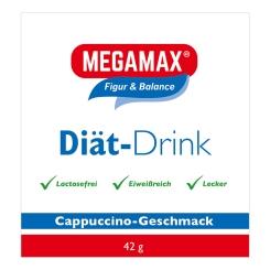 MEGAMAX® Diät-Drink Cappuccino