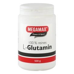 MEGAMAX Glutamin Pulver 100% rein