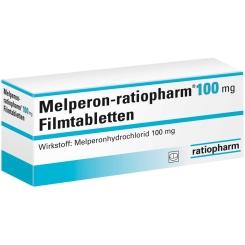 Melperon ratiopharm 100 mg Filmtabletten