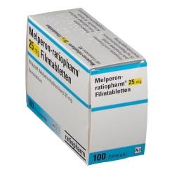 Melperon ratiopharm 25 mg Filmtabl.