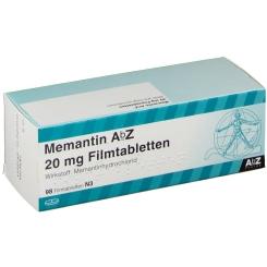 MEMANTIN AbZ 20 mg Filmtabletten
