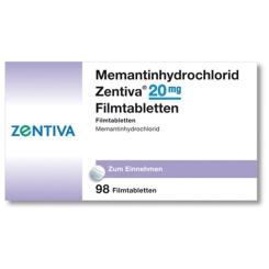 MEMANTINHYDROCHLORID Zentiva 20 mg Filmtabletten