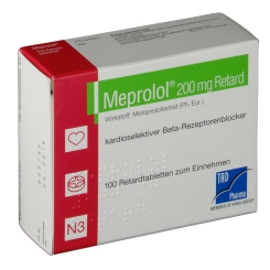 MEPROLOL 200MG RETARD