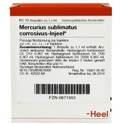 Mercurius sublimatus corrosivus-Injeel® Ampullen