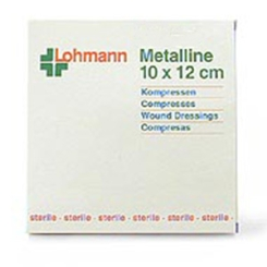 Metalline® Kompresse 10 cm x 12 cm steril