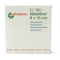 Metalline® Kompresse 8 cm x 10 cm steril