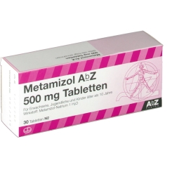 METAMIZOL AbZ 500 mg Tabletten