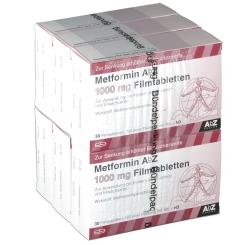 Metformin AbZ 1000 mg Filmtabletten