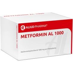Metformin AL 1000 Filmtabletten
