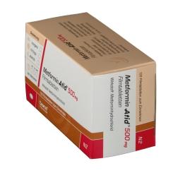 Metformin Atid 500 mg Filmtabletten