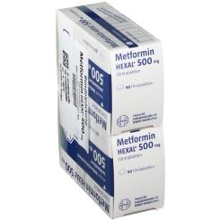 METFORMIN HEXAL 500 mg
