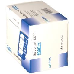 Metformin Lich 1000 mg Filmtabletten