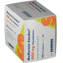 Metformin Sandoz 1000 mg Filmtabletten