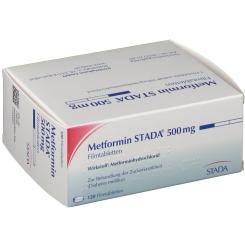 Metformin Stada 500 mg Filmtabletten