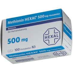 Methionin Hexal® 500 mg Filmtabletten