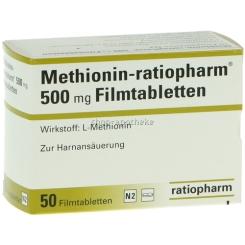 Methionin-ratiopharm® 500 mg Filmtabletten