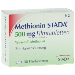 Methionin Stada 500 mg Filmtabl.