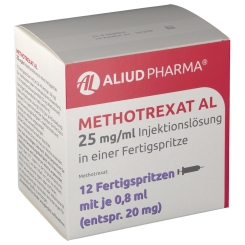 METHOTREXAT AL 25mg/ml Inj.Lsg.i.e.FER 20mg/0,8ml