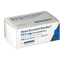 Meto Succinat Sandoz 47,5mg Retardtabletten