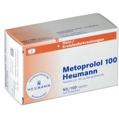 Metoprolol 100 Heumann Tabletten