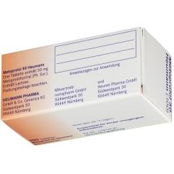 Metoprolol 50 Heumann Tabletten